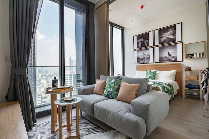 Stylist 1bedroom Bangkok Silom Monthly rent