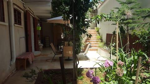 Villa level T4 kouba+garden+ private garage