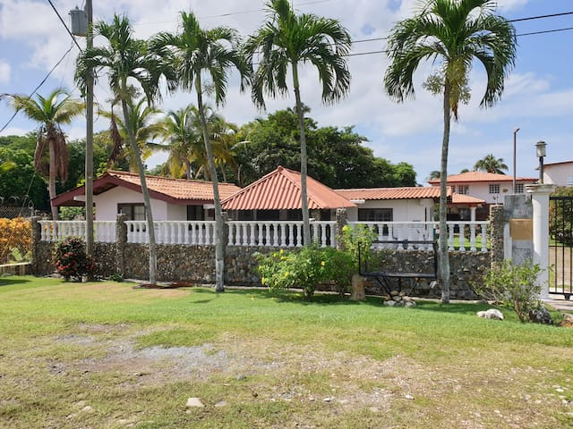 A beachfront property very near to Panama city