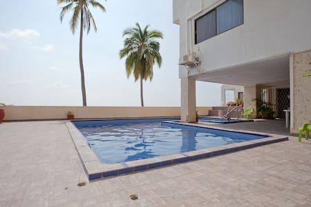 Excelent ubication , entire apartament in Laguito - Cartagena