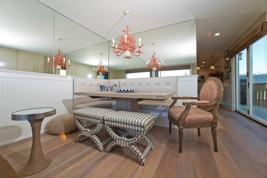 Decorative dining area