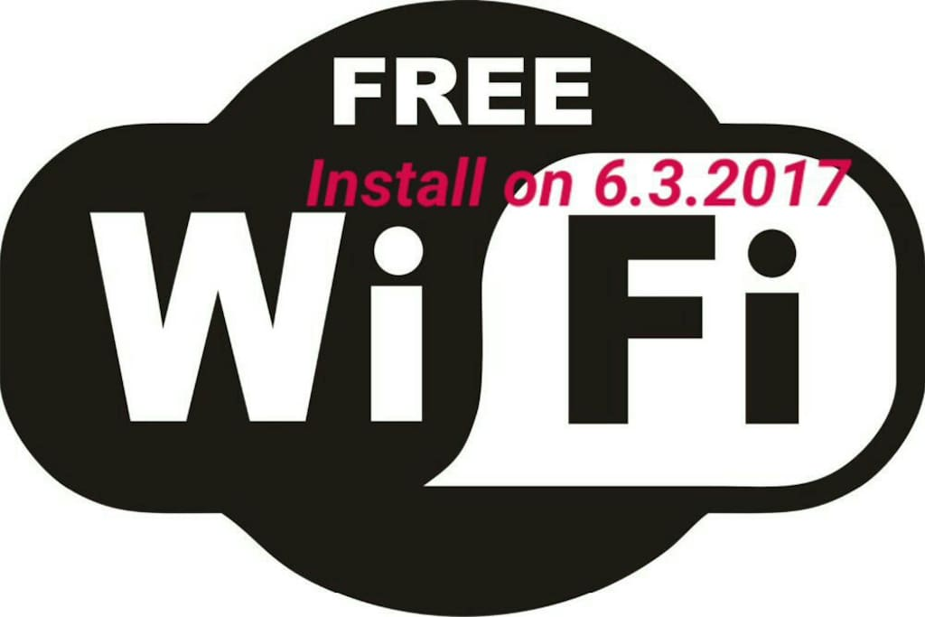 High Speed 30mbps UNLIMITED WiFi is provided FREE from 6.3.2017 onwards!