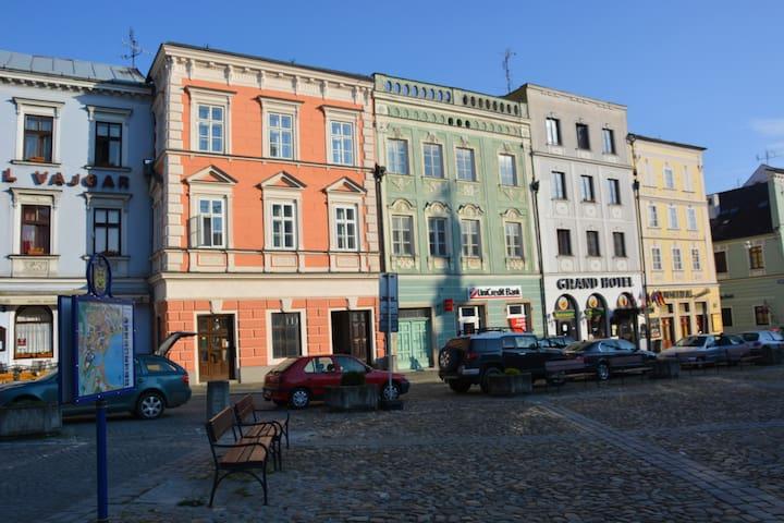 Apartmán na náměstí č.4 - Jindřichův Hradec