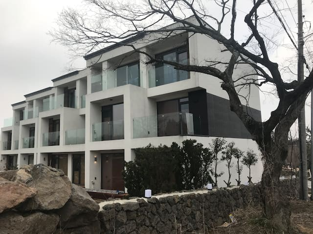 Pent house in Terraced resort pension