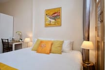 Your room comes with a king bed (or 2 single beds), quality linen and beddings for a good night's rest.