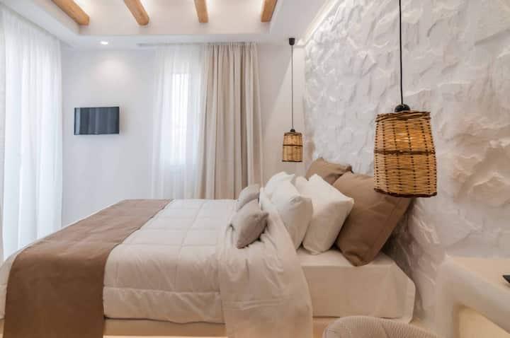Villa Adriana Naxos Hotel - Studio with Sea View