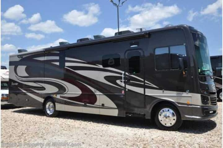 Gorgeous Class A RV Set up at your location!
