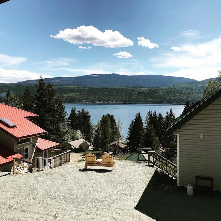Nauti Cabin - Anglemont, BC. North Shuswap
