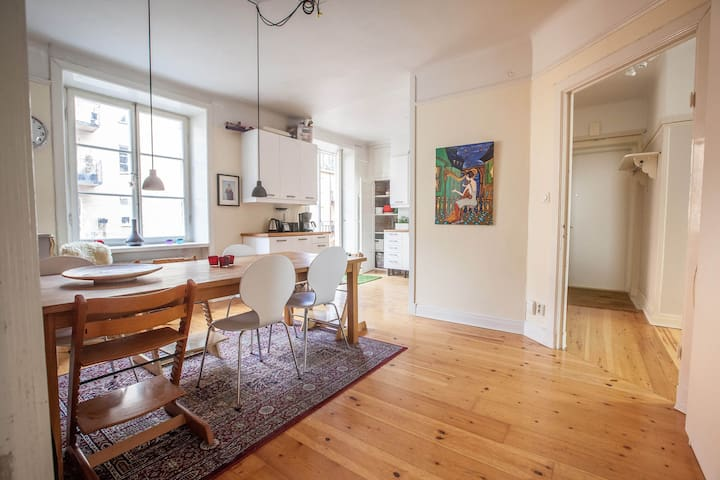 Beautiful apartment in central Stockholm