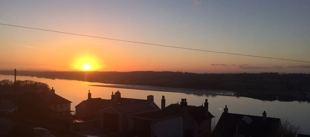 Cosy apartment with stunning views - Y Felinheli - Daire