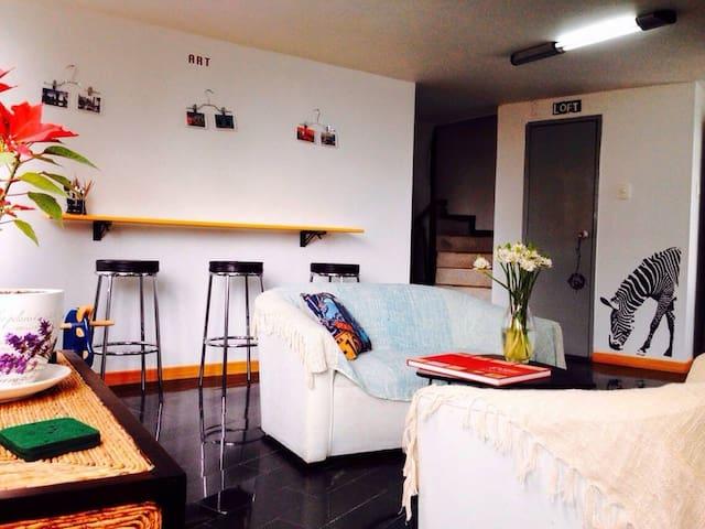 Habitacion Centro Bogota Planetario - Bogotá - Apto. en complejo residencial