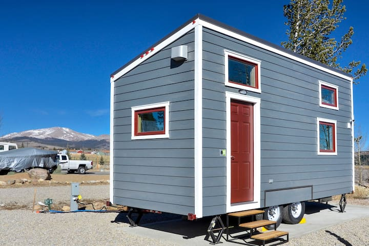 *NEW* Helms Nest ⌂ Tiny House near Skiing/Hiking