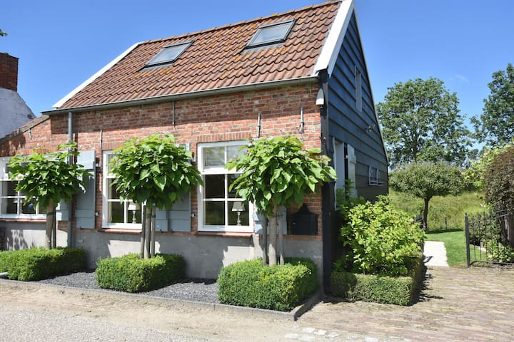Modern Holiday Home in Sluis with a Garden
