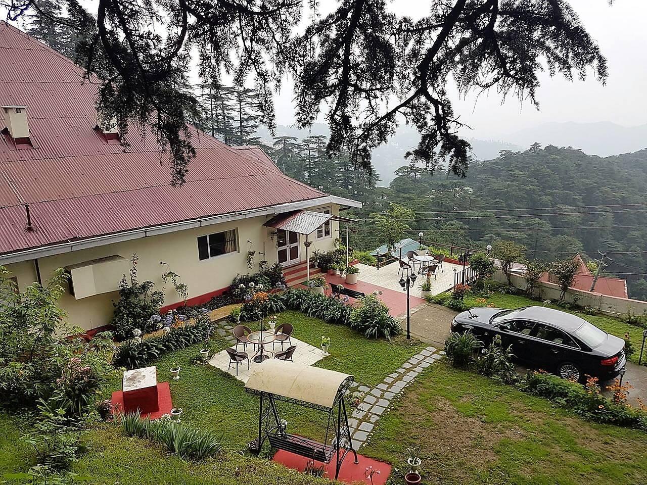 View of Marley Villa