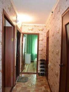 Квартира чистая уютно в центре рядом Shimkent Plaz