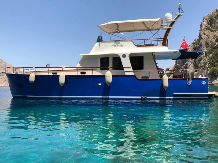 Yacht in Bodrum/ Özel Tekne Bodrum