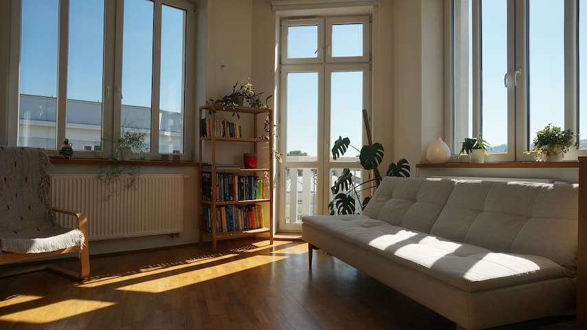 Sunny apartment in historic town - Przemyśl - Byt