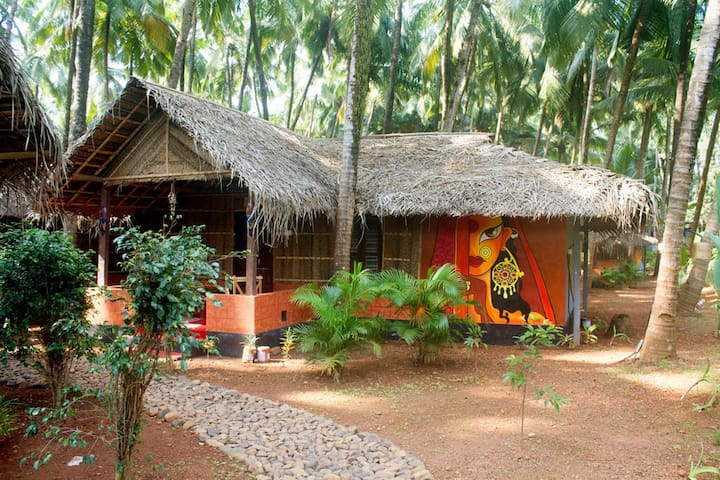 Eco Deluxe Hut at Patnem Backwaters