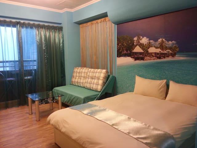 碧海藍天景觀雙人房