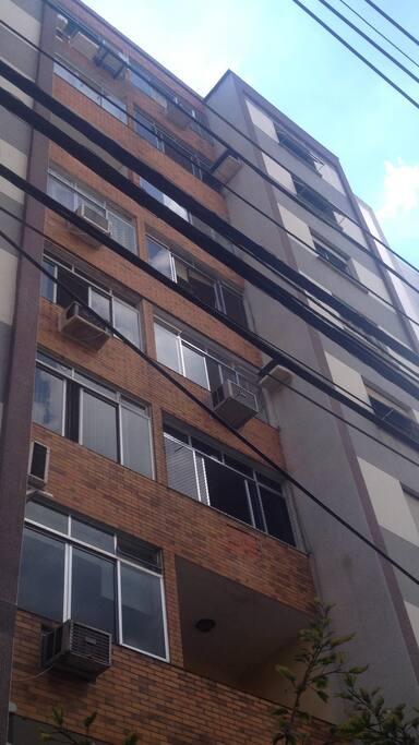 Frente do edifício