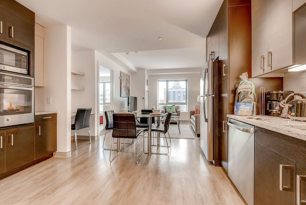 Luxury 1 Bedroom Boston Apartment Yoga Studio
