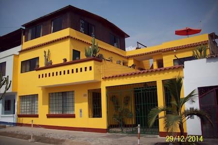 Nylamp Wasi Hospedaje y Surf Camp - Punta Hermosa - Casa