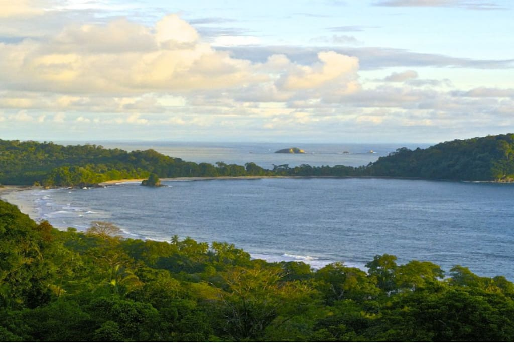 View from the house of Manuel Antonio National Park.