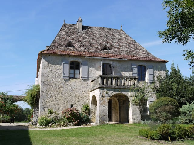 Fonqueyrade - 5 bedrooms, pool - Sainte-Sabine-Born - House