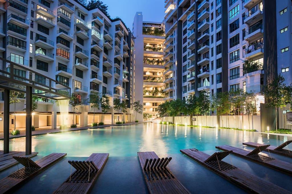 Wifi Skyview Seri Kembangan Between Klcc Klia Condominiums For Rent In Seri Kembangan