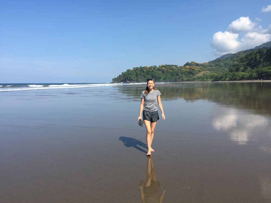 Your base house is within minutes of some of the most beautiful beaches in Costa Rica
