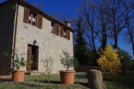Casa in Val d'Orcia per famiglie - Radicofani - Dům