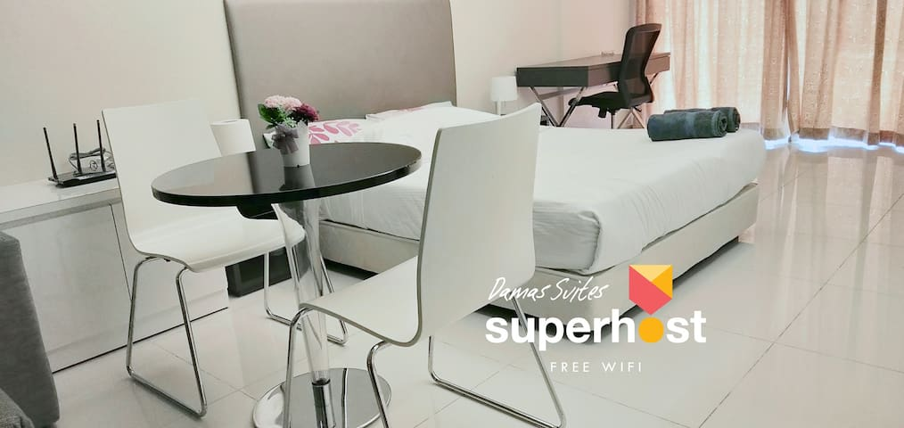 ⭐ Exquisite Studio with Broadband @ Damas Suites