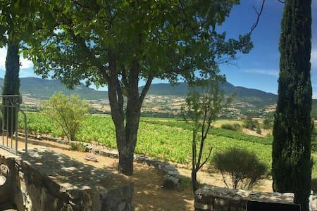 Résidence de charme au milieu des vignes - Sainte-Jalle