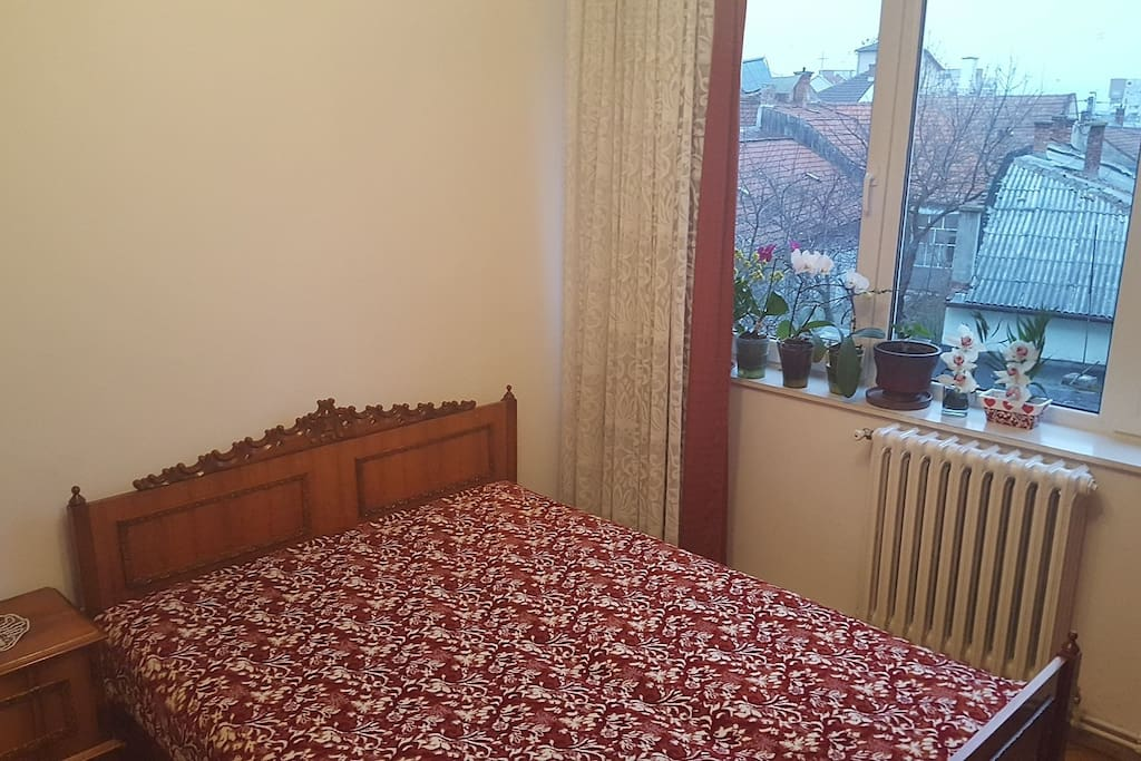 Another bedroom with double bed
