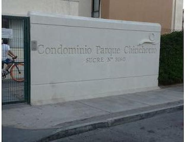 Habitación c/ cama matrimonial/ Room w/ double bed - Arica - Appartement