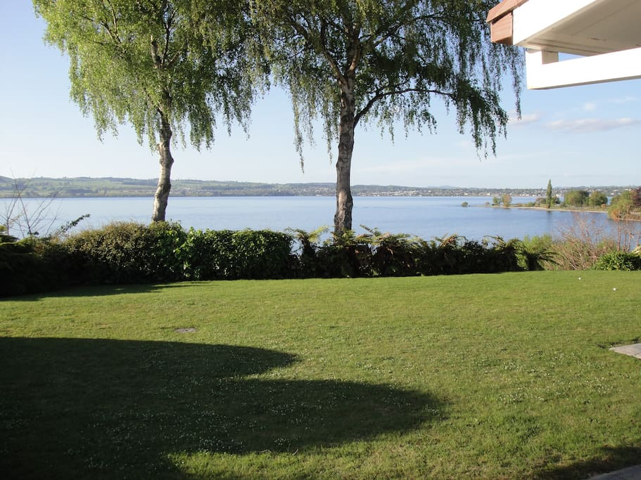 Or just soak up the view from all angles - from the lawn - even hit golf balls out to the water.