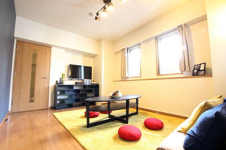 [ASAKUSA] 2 min to sta. Spacious Room w/ Mob. WIFI - Taitō-ku - Apartment