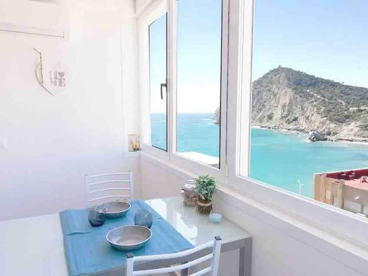 New apartment w/seaviews in La Cala, Benidorm