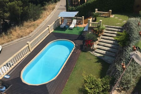 Charming apart. with garden & pool