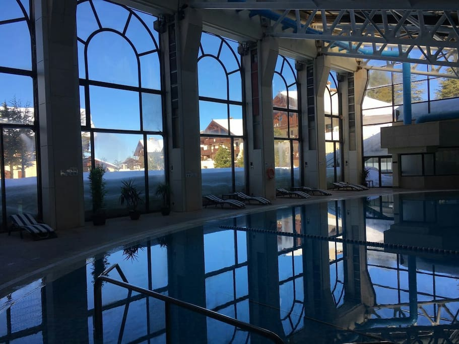 Heated pool during summer & winter