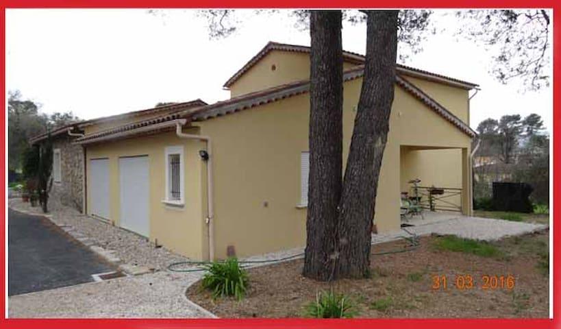 maison au calme, proche plages (8km) - Mouans-Sartoux - Apartamento