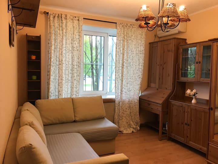 Уютная квартира в Царском Селе