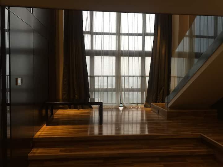 ✨泡泡鱼の【独一】/💋拥有大落地窗与榻榻米/朝霞与夕阳的浪漫(长隆动物园/欢乐世界/广州塔)💋