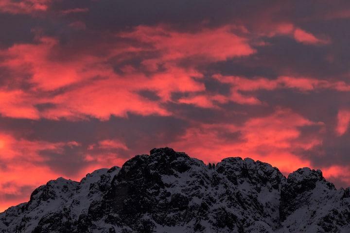 Una finestra sulle Dolomiti