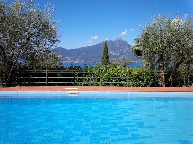 Apartment with garden and pool - Torri del Benaco - Apartment