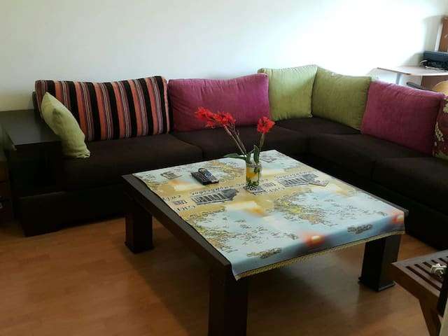 2 rooms plus living room in Beirut