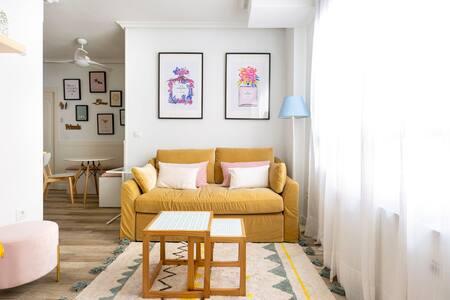 NUEVO - Apartamento ideal para 4 personas