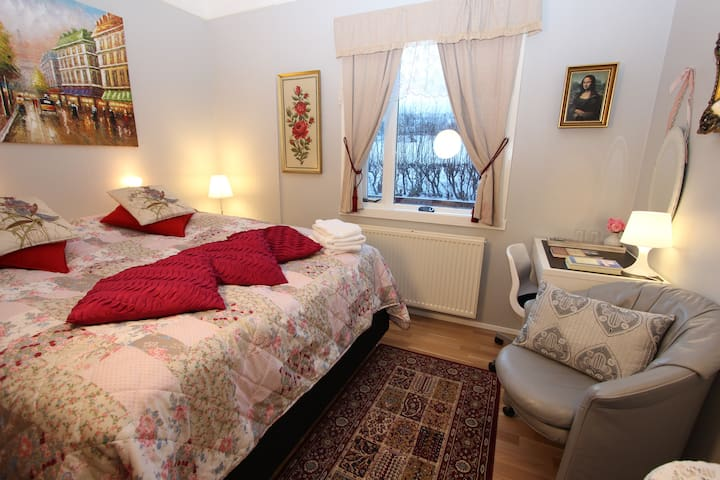 The Viking Country Club. The  double room Paris.