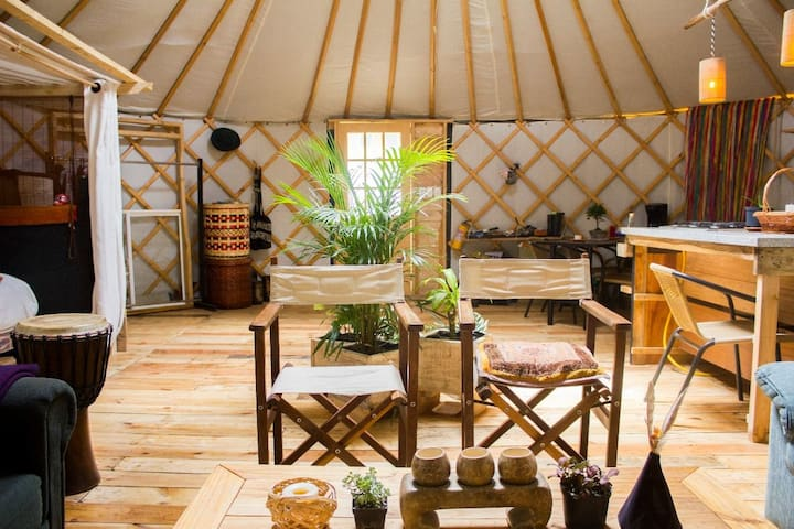 ¡Yurta de campo en Tabio!