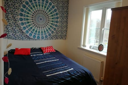 Cozy double bedroom - Wrexham - Дом